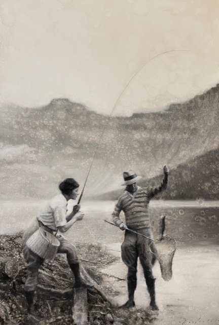 fishing in the rocky mountains