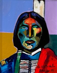 arapaho indian painting