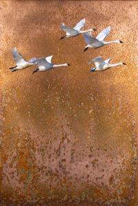flying geese painting